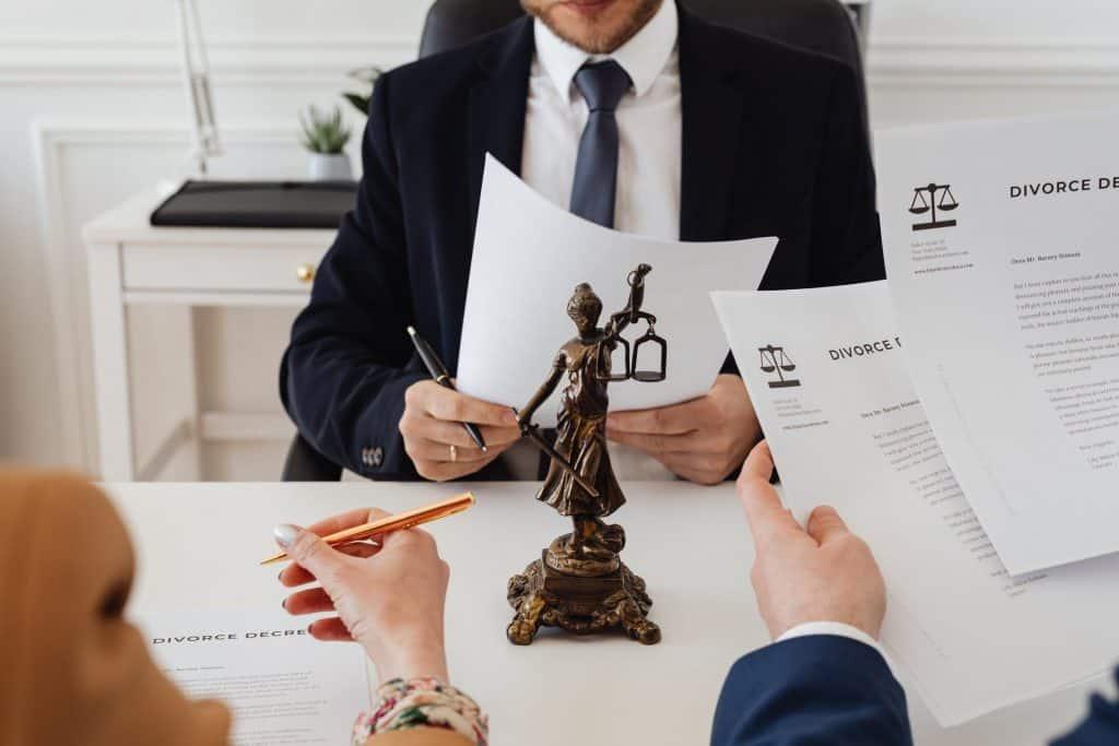 Divorcio y separacion ulterior